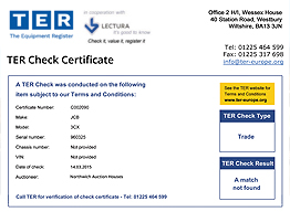 TER Check Certificate