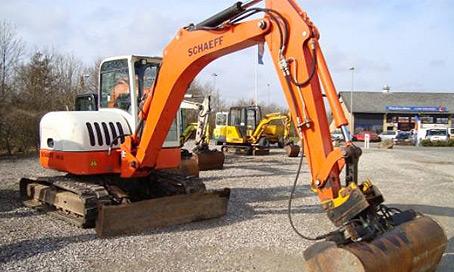 Schaeff HR32 Excavator