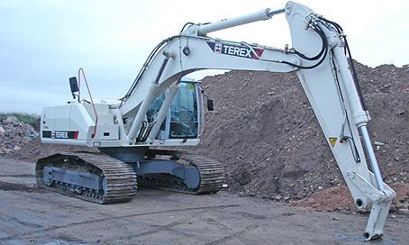 Terex Tc240LC Excavator