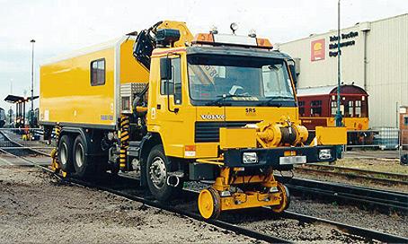 Volvo 25 Tonne Road Rail Lorry