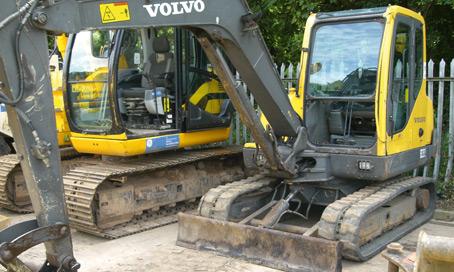 Volvo EC55 Excavator